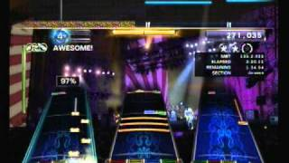 "Rock Band 3 (Custom Song) - Crush 40 ""Open Your Heart"" (2x Bass Pedal)"