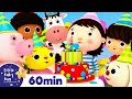 Happy Birthday Song   +More Nursery Rhymes & Kids Songs   ABCs and 123s   Little Baby Bum