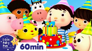 Happy Birthday Song | +More Nursery Rhymes & Kids Songs | ABCs and 123s | Little Baby Bum