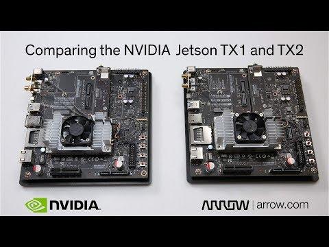 NVIDIA Jetson TX1 and TX2 Comparison | Arrow com - YouTube