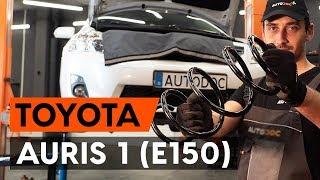 Kuinka vaihtaa etujousi TOYOTA AURIS 1 (E150) -merkkiseen autoon [AUTODOC -OHJEVIDEO]