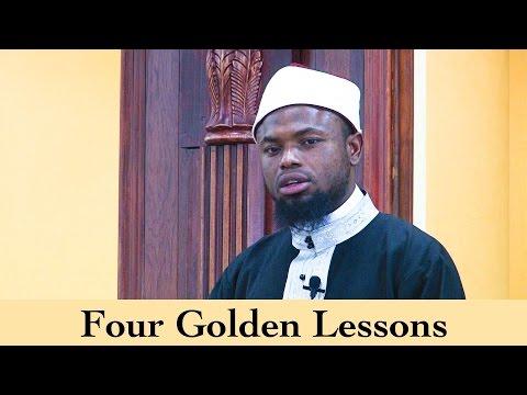 Four Golden Lessons | Sh. Okasha Kameny | Khutbah
