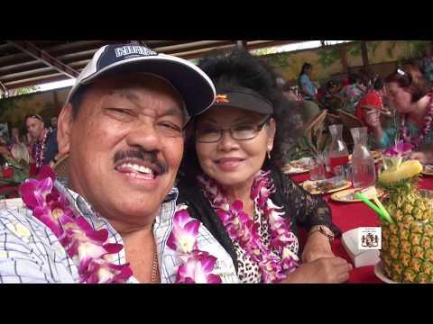 Henry & Carla Soemanta at Polynesian Cultural Center, Oahu, Hawaii, USA Oct  26, 2017 Episode 3