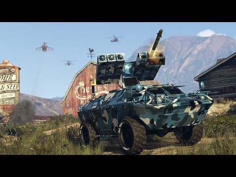 GTA Online: Mobile Operation #4 - Offshore Assets (Gunrunning DLC)