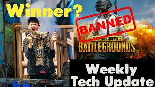 Fortnite Winner Obtient $3 MILLIONS, PUBG BAN, Instagram de Facebook - Plus d'autres WEEKLY TECH UPDATE #1