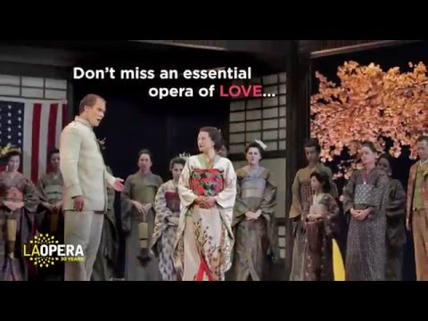 Madame Butterfly at LA Opera Trailer