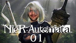 NieR: Automata mit Simon & Budi #02 | Last Call - Weiterspielen oder Aufhören?