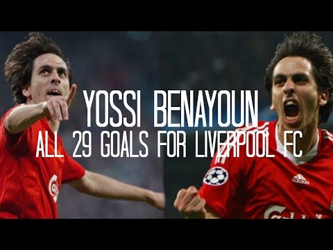 Yossi Benayoun - All 29 Goals for Liverpool FC - 2007/2010 - English Commentary