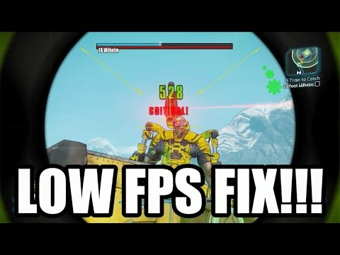 Borderlands 2 Low FPS Fix For AMD CPUs + Steam Sale