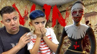 The Evil Nun Is Way Scarier Than Granny!! (Super Creepy Horror Game)