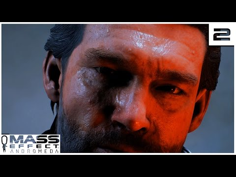 Mass Effect Andromeda EP 2 - SR RYDER - Let's Play Gameplay Part 2