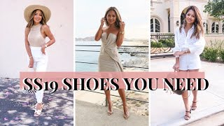 11 Shoes You Need Spring/Summer 2019