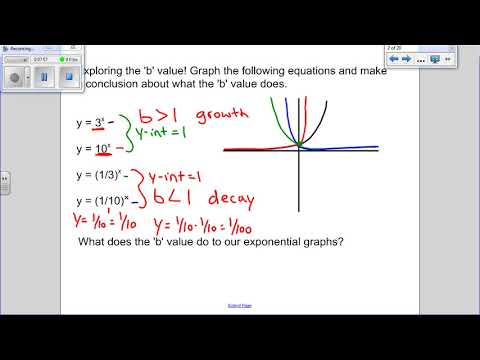 Math 30-2 Unit 5 Lesson 5  Exponential and Logarithmic Graphs