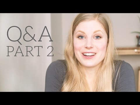 Q&A Part 2 | Lifestyle, Diet, Germany & Green living