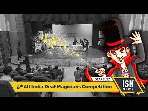 5th All India Deaf Magicians Competition