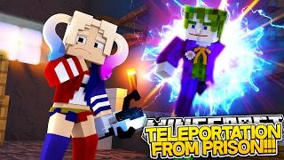 Minecraft Adventure - THE JOKER & HARLEY QUINN ARE FREE!!!