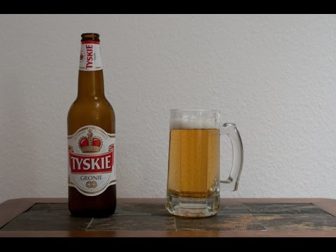 Tyskie Gronie Beer Review