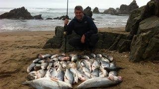 Pesca de Corvinas en Peru 2012!
