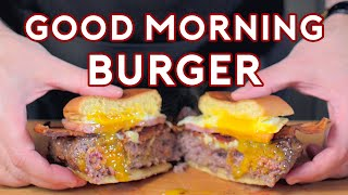Download Binging with Babish: Good Morning Burger from The Simpsons Mp3 and Videos