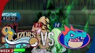 GBA S7W2 Philadelphia Scizors vs Florida Gatrs: Welcome to Lake Laogai
