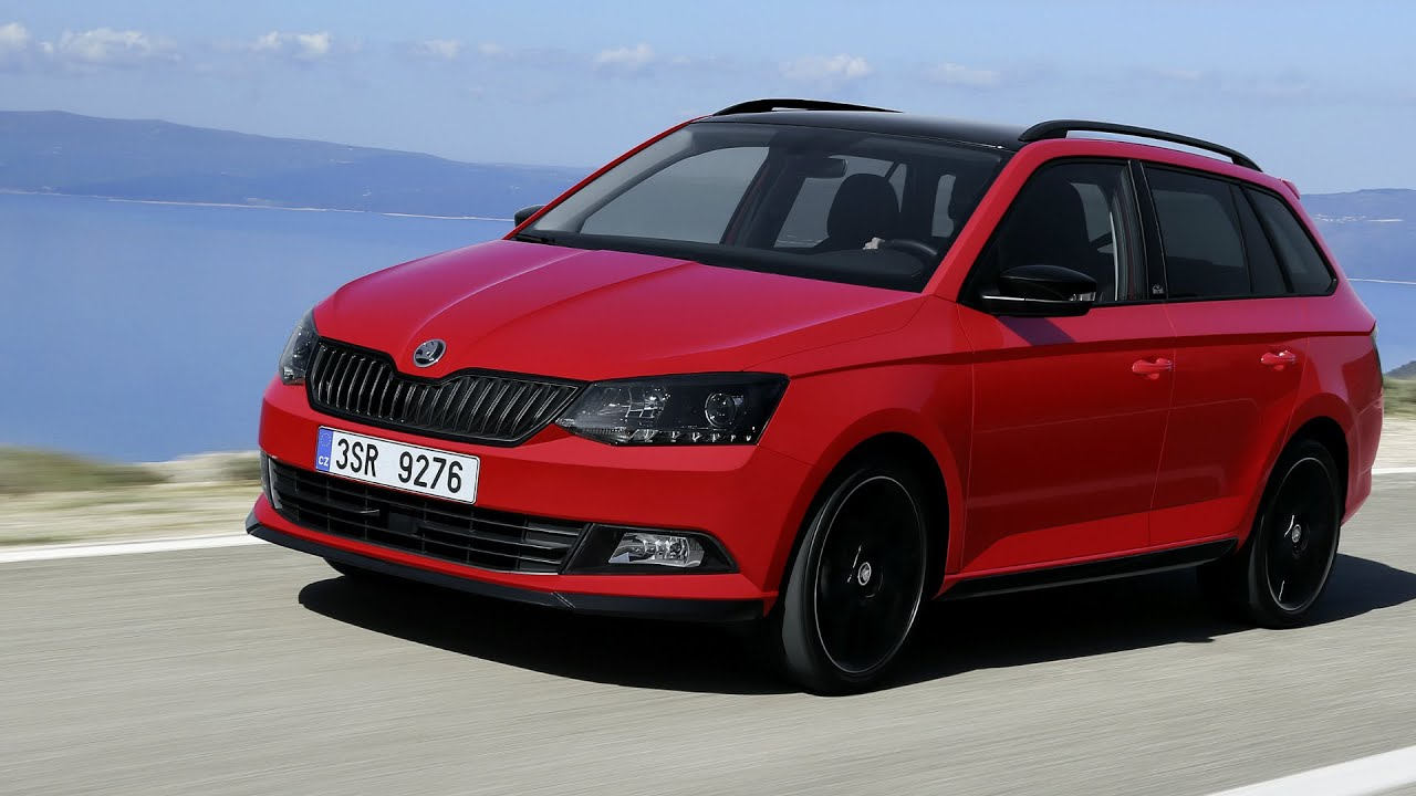 2016 skoda fabia combi monte carlo drive and design youtube. Black Bedroom Furniture Sets. Home Design Ideas