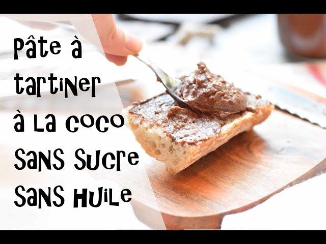 Pâte à tartiner healthy amande et coco sans huile et sans sucre ajouté