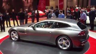 Ferrari Gtc4lusso Revealed - Geneva Show Blog