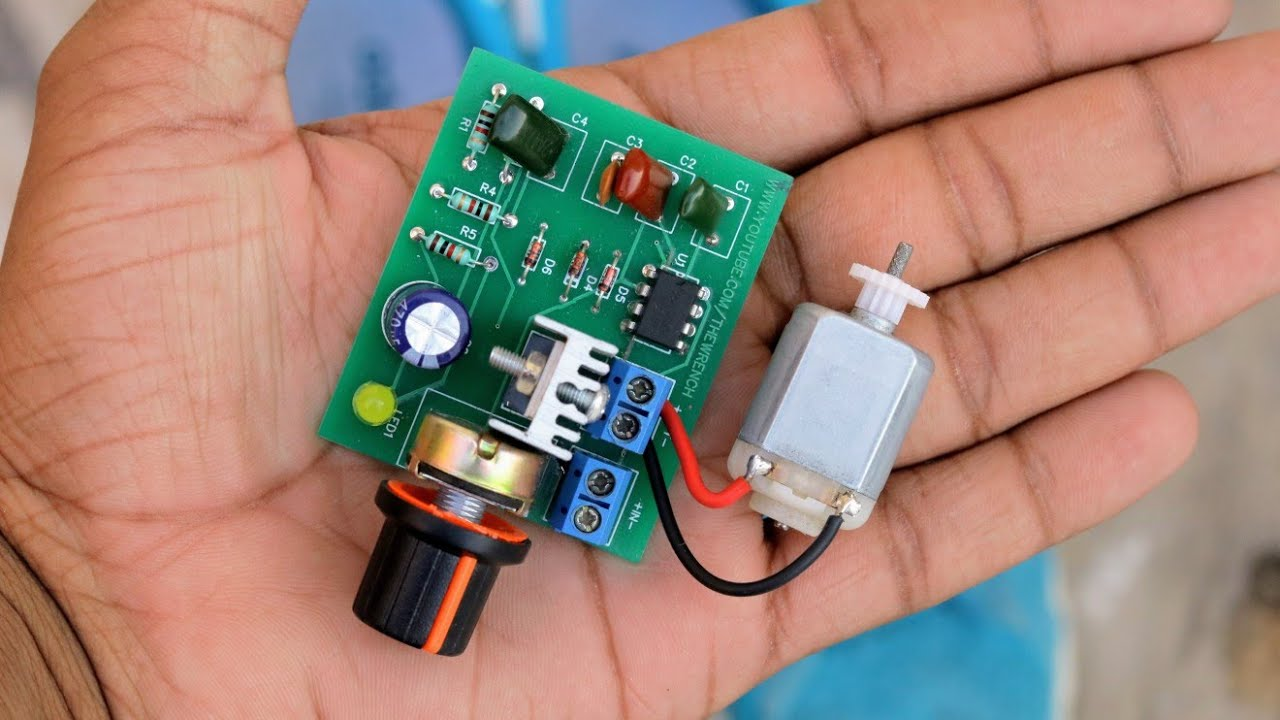 How to make dc motor speed controller awesome ideas for How to build a motor controller