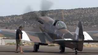 Supermarine Spitfire Mk XIV Visits Reno