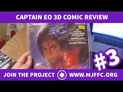 #3. Michael Jackson Captain EO 3D Comic Review (1080p)