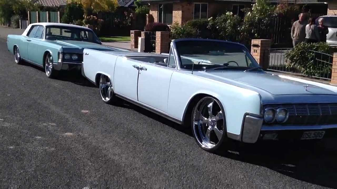 bagged 1964 lincoln continental on 24 inch rims 1964. Black Bedroom Furniture Sets. Home Design Ideas