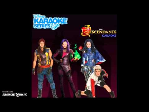 Descendants Cast - Rotten to the Core (Karaoke) [Audio Only]