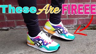 "Asics Tiger Gel Lyte V ""Confetti"" Review + On Feet 1191A227-100"