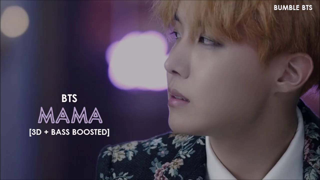 [3D+BASS BOOSTED] BTS (방탄소년단) J-HOPE - MAMA | bumble bts