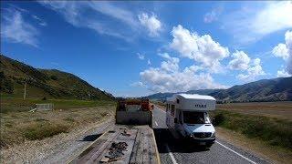 Geooffs Highway View : Cromwell to Wanaka  Car Transporter