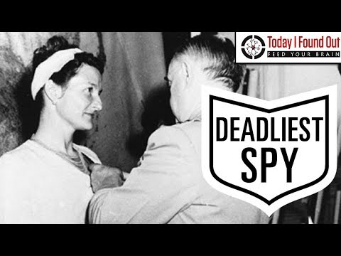 Badass Week: The One Legged Woman Who Was the Most Dangerous Of All Allied Spies