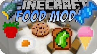 Minecraft FOOD MOD (100+ Neue Nahrungsmittel)