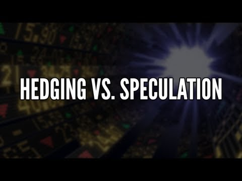 Hedging vs. Speculation - Commodity Challenge Tuesday Tip