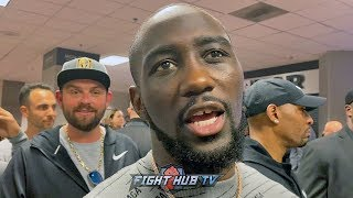 """FURY PUT ON A CLINIC!"" TERENCE CRAWFORD REACTS TO WILDER VS FURY 2 TKO STOPPAGE"