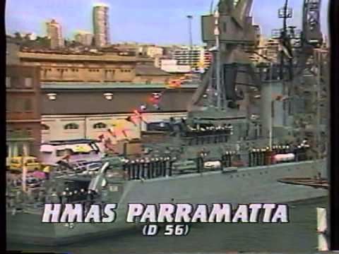 The Royal Australian Navy's 75th Anniversary Review 1986