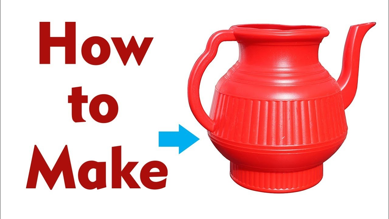 How to Make Toilet Lota / Toilet Wash Jug