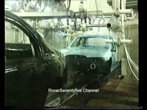 Rover 75 Produktion