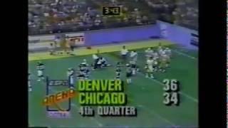 Arena Football - 1987 Season - Denver Dynamite vs. Chicago Bruisers (COMPLETE GAME)