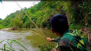 Câu Cá Suối Mùa Lũ Bằng Cần Trúc - 2020