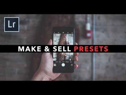 Make & Sell Your Own Photo & Video Presets!