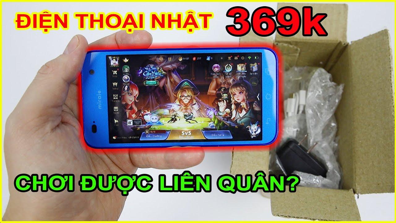 Mở hộp Điện thoại Nhật giá 369k trên LAZADA, SHOPEE. Hơn 300k chơi được Liên Quân? | MUA HÀNG ONLINE