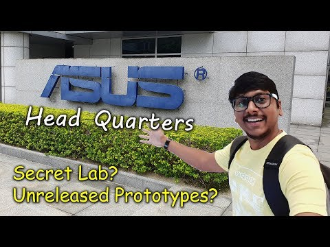 My Visit To ASUS HeadQuarters In Taiwan...