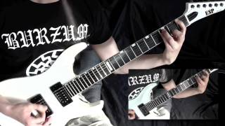 Burzum - A Lost Forgotten Sad Spirit Guitar Cover