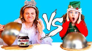 Download Kids fighting in NAUGHTY VS NICE food switch up Challenge Mp3 and Videos