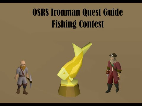 [OSRS] Fishing Contest Ironman Quest Guide